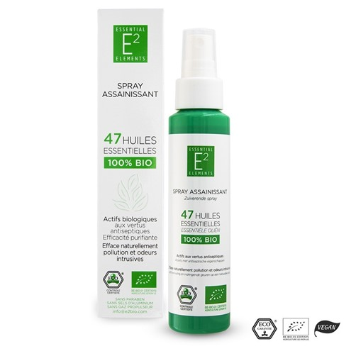 E2 desinfioiva spray, luomu 100ml