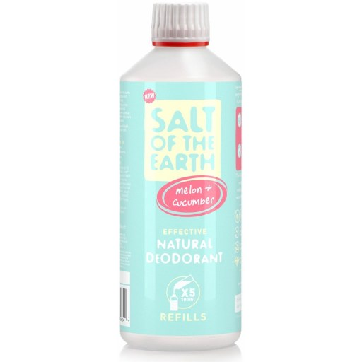 Salt of the Earth – Melon&Cucumber spray deodorantin täyttöpakkaus 0,5L