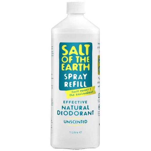 Salt of the Earth -  Natural spray deodorantin täyttöpakkaus 1L