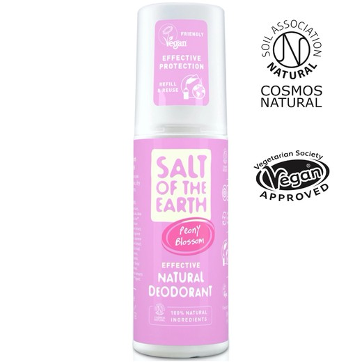 Salt of the Earth - Peony Blossom spray deodorantti 100ml